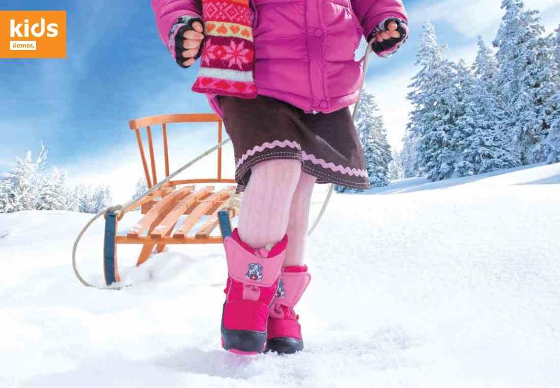 Детская зимняя обувь Демар - технологии в ногу со